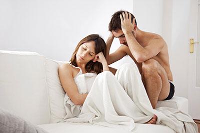 férfiaknál az első alkalom után nincs merevedés