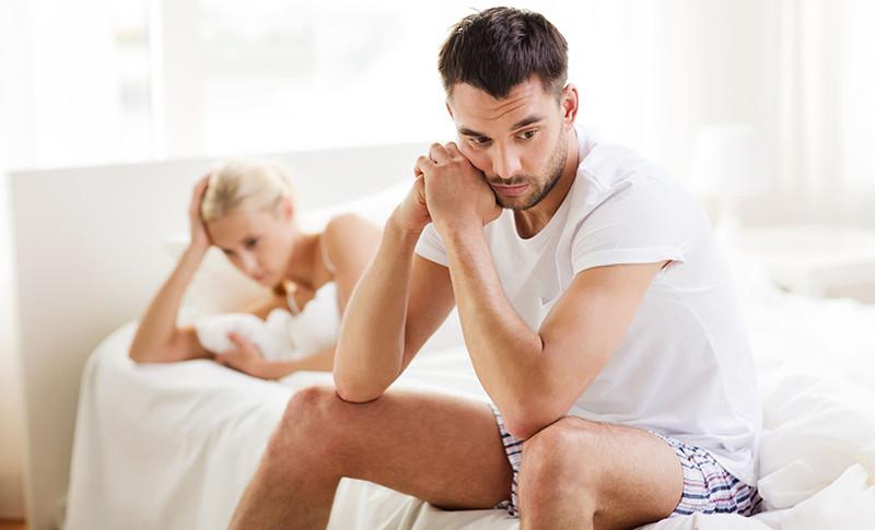 férfiaknál nincs merevedés