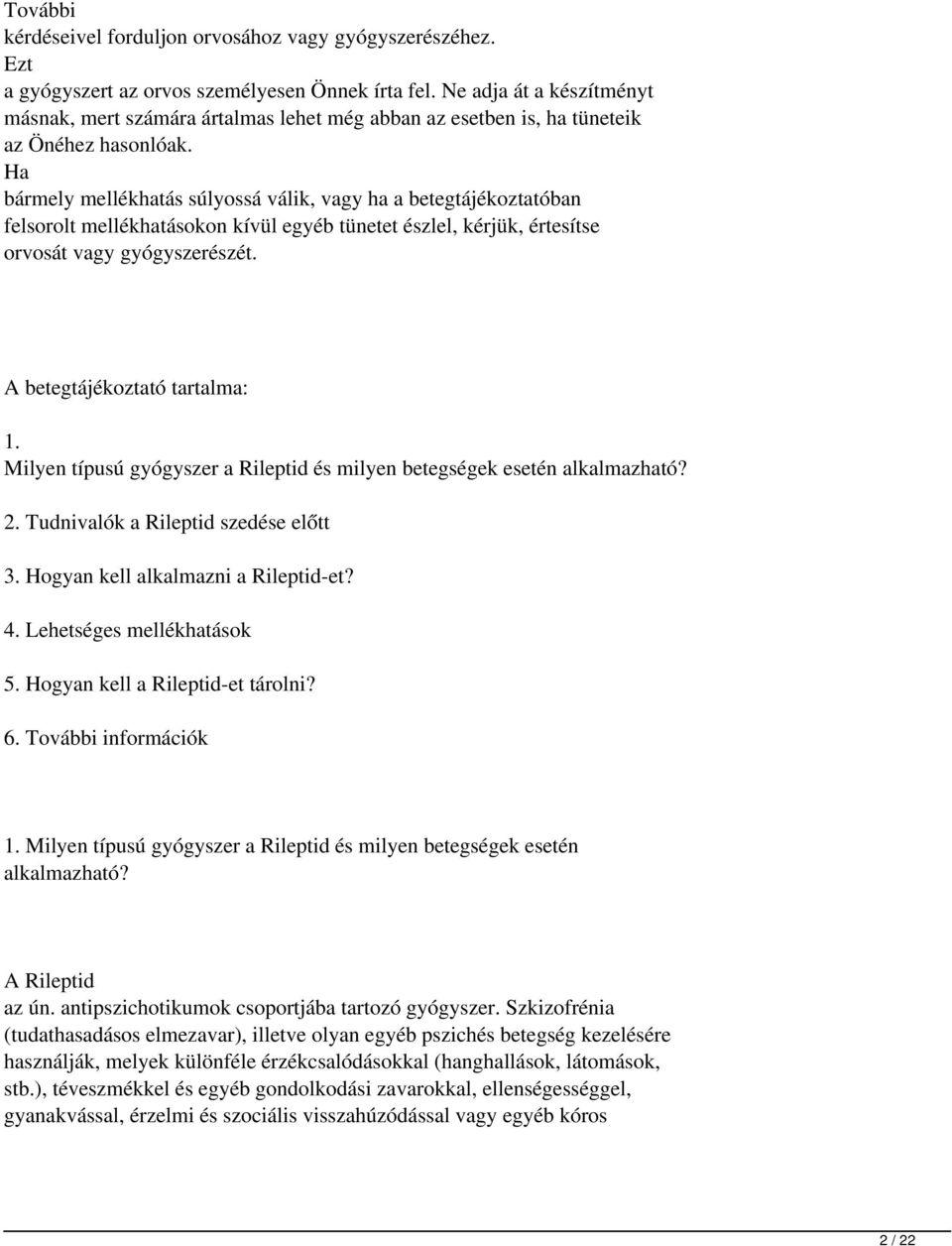 antipszichotikumok és erekció