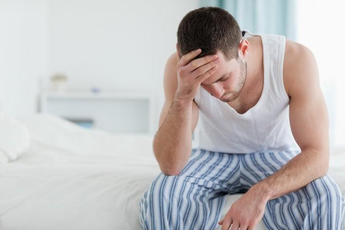 merevedés krónikus prosztatagyulladás után